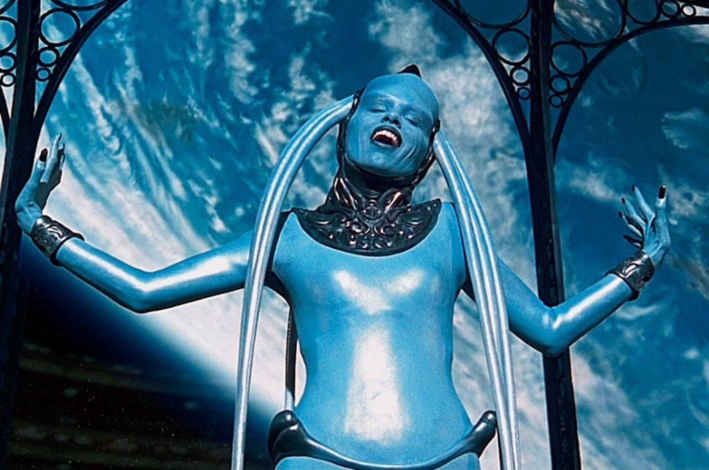 Bruce Willis uno de los protagonsitas de El Quinto Elemento