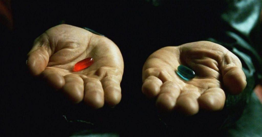 las dos pildoras de matrix